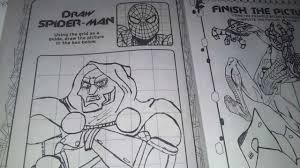 ep 2 the amazing spider man jumbo coloring book