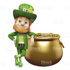 st patricks day leprechaun with his pot of gold stock photo   istockst patrick s day leprechaun   his pot of gold royalty   stock photo