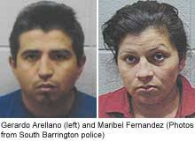 Gerardo Arellano and his wife, Maribel Fernandez - pirated
