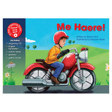 Me haere By Sharon Holt/ Maori singalong book for children/ Poi Princess