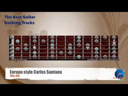 Santana Europa Chord Chart Chords For Europa Carlos Santana Guitar Backing Track
