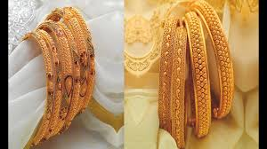 New Latest Gold Bangles Design Latest 2018 Gold Bangles Designs With Weight