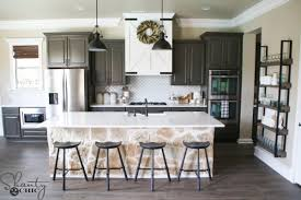 Modern Farmhouse Kitchen Solid Wood Cabinets Table Sets Pantry