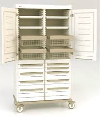 Tall Cabinet With Drawers Metro Starsys Tall Mobile Cabinet