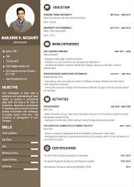 Resume One Page Professional Resume Cv Templates With Examples Topcv Me One Page Cv