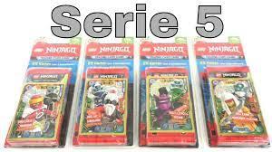LEGO Ninjago Trading Card Game Serie 5 / Alle 4 Blister / Unboxing - YouTube