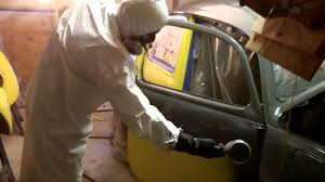 how to paint your car at home in your garage chucks 68 vw bug day 3 4 you