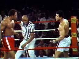 George Foreman vs <b>Muhammad Ali</b> - Oct. 30, 1974 - <b>Rounds</b> 1