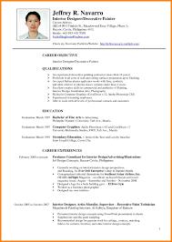 Architectural Designer Resume Job Description Interior Design Resume Examples Assistant Student Intern