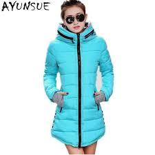 plus size parka womens jacket winter 2018 new medium long cotton parka plus size