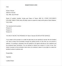 Notice Of Eviction Letter Template Unique 28 Eviction Letter Templates Free Sample Example Format Download