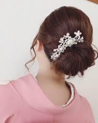 Moriyama Mamiさんのヘアスタイル ご結婚式のお客様振袖