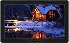 Windows 10 Winter Theme Snowy Night Winter Theme For Windows 10