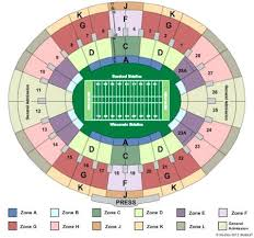 Rose Bowl Stadium Seating Chart Interactive Www