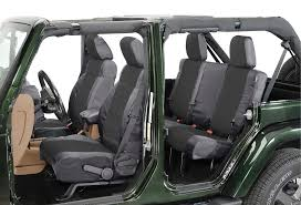 coverking front rear ballistic nylon seat cover combo for 07 10 jeep wrangler jk 2 door without side airbags previous next