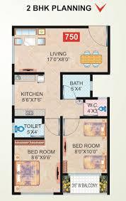 super area 750 sq ft apartment