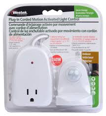 plug in motion activated detector sensor light control electrical home indoor 691045718397