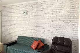 Small Picture White Brick Wall Wallpaper Wall Decor