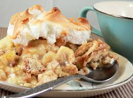 made from scratch banana pudding