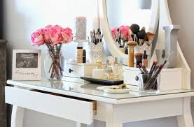 vanity ikea stool ikea rug ikea pouf lulu and georgia c o makeup brush holders ikea candle