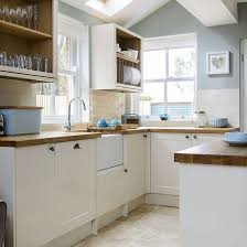 English Country Kitchen Design Mesmerizing Pale Blue And Cream Kitchen I N T E R I O R Pinterest