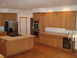 Laminating Kitchen Cabinets Flooring Oak Kitchen Cabinet With Ceiling Lights And Home Depot