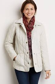 Diamond-quilted long jacket (in walnut). | Cozy up for Fall ... & Heritage quilted jacket Adamdwight.com