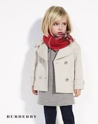 Burberry Luxury Childrens Fashion Autumn Winter Vlasy účesy