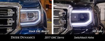2000 Gmc Sierra Daytime Running Light Bulb Number New Led Halos For Your Gmc Sierra 1500 Headlights