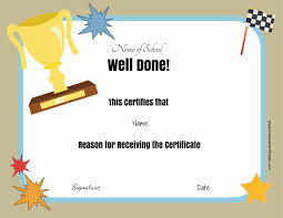 Most Likely To Award Template Free School Certificates Awards