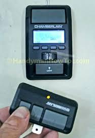 craftsman garage door opener remote battery 315 control liftmaster 3v sears size remot