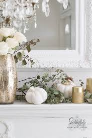 elegant and simple fireplace mantel decorating ideas