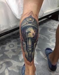Tetování Robotické Lýtko