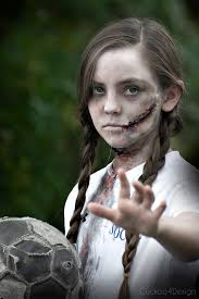 easy tutorial on how to make creepy zombie makeup with some easy to follow steps
