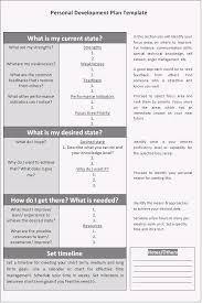 personal development plans sample personal development plan template word excel pdf