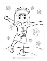 It's always exciting to unveil a mystery, especially as a youngster. Winter Coloring Pages Itsybitsyfun Com