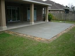 Home Concrete Slab Patio Designs Plain And Home Concrete Slab Patio