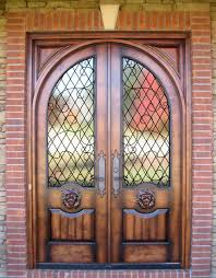front french doorsCountry French Exterior Wood Front Entry Doors  DbyD2401