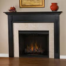 wood fireplace mantel shasta view detailed image