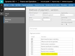 How To Make Payment Reference A Mandatory Entry While