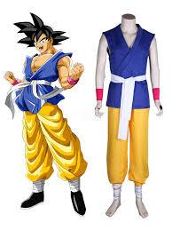 Dragonballgt Cosplay Costume Kid Son Goku Kakarotto Outfit Anime Cosplay Costume