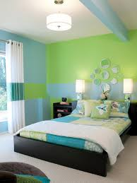 Painting For Bedroom Bedroom Colour Scheme Idea With Blue Wall Brown Curtain Light