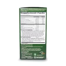 garden of life raw calcium full label view including supplement facts ings and suggested use for