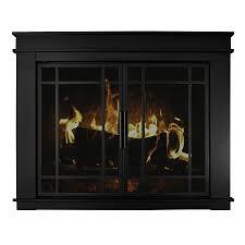 Shop Fireplace Doors At LowescomBlack Fireplace Doors