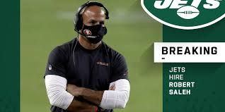 Robert saleh, the new head coach for the new york jets, is making history as the first muslim american to lead a team in the national football league. Nfl On Twitter Jets Hire Robert Saleh As New Head Coach