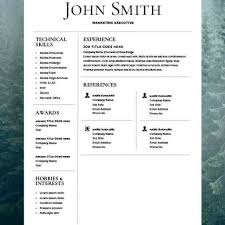 Diy Resume Template Best 24 Resume Templates Word Ideas On Pinterest Cover Letter 8