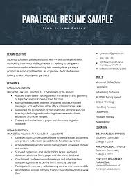 Paralegal Resume Paralegal Resume Sample Writing Guide Resume Genius