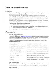 Personal Statement Resume The Best How To Write A For Job