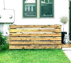 how to hide trash cans can enclosure fence hiding garbage my