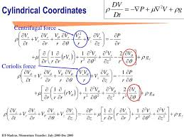 cylindrical coordinates ppt navier stokes equation powerpoint presentation id 4088793 derivation